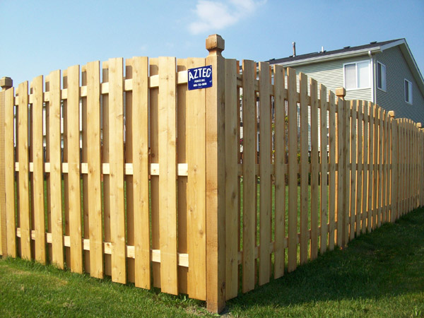 Installing Dog Ear Privacy Fence
